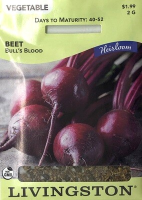 BEET - HEIRLOOM - BULL'S BLOOD