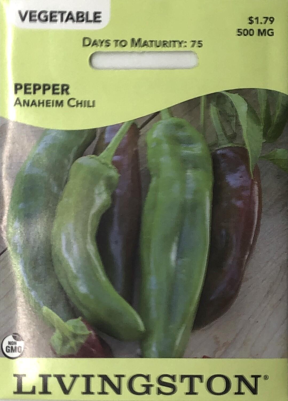 PEPPER - ANAHEIM CHILI
