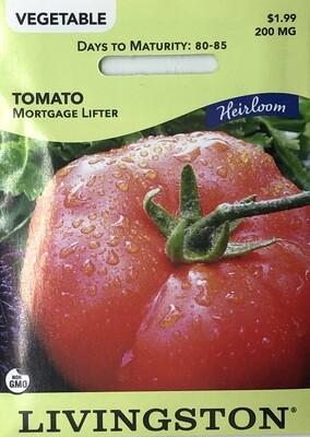 TOMATO - HEIRLOOM - MORTGAGE LIFTER