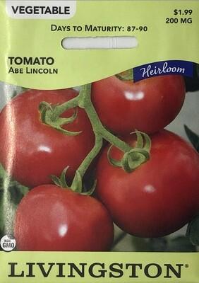 TOMATO - HEIRLOOM - ABE LINCOLN