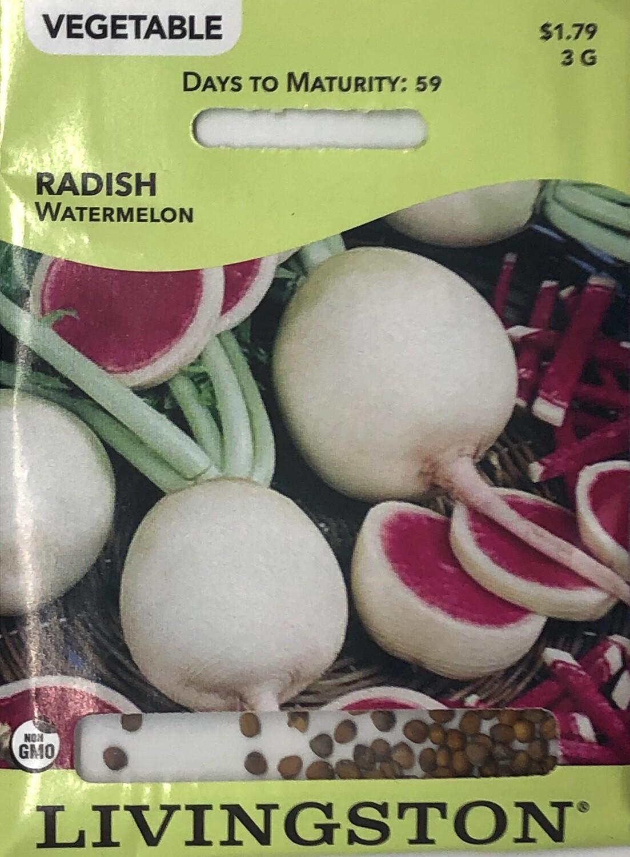 RADISH - WATERMELON