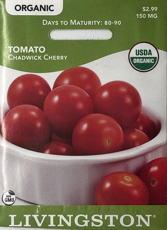 TOMATO - ORGANIC - CHADWICK CHERRY