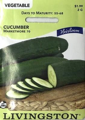 CUCUMBER - HEIRLOOM - MARKETMORE 70
