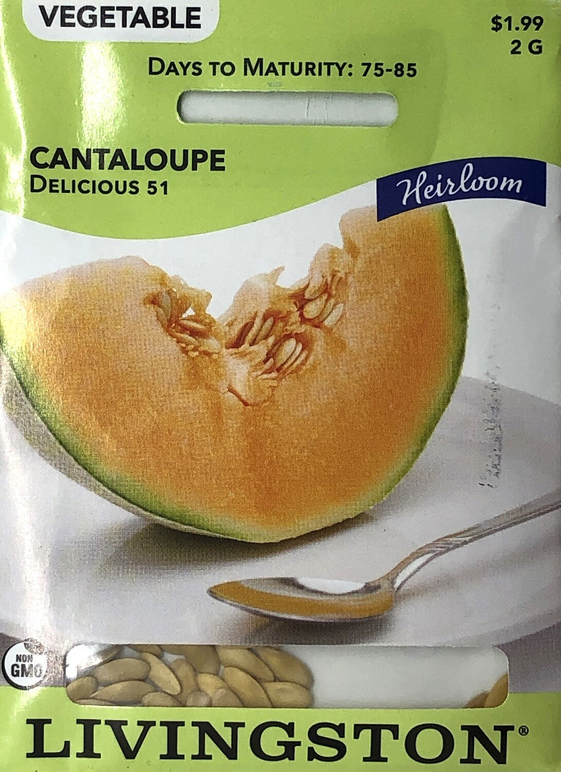 CANTALOUPE - HEIRLOOM - DELICIOUS 51
