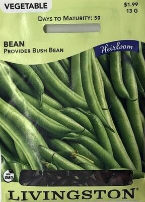 BEAN - BUSH - HEIRLOOM - PROVIDER