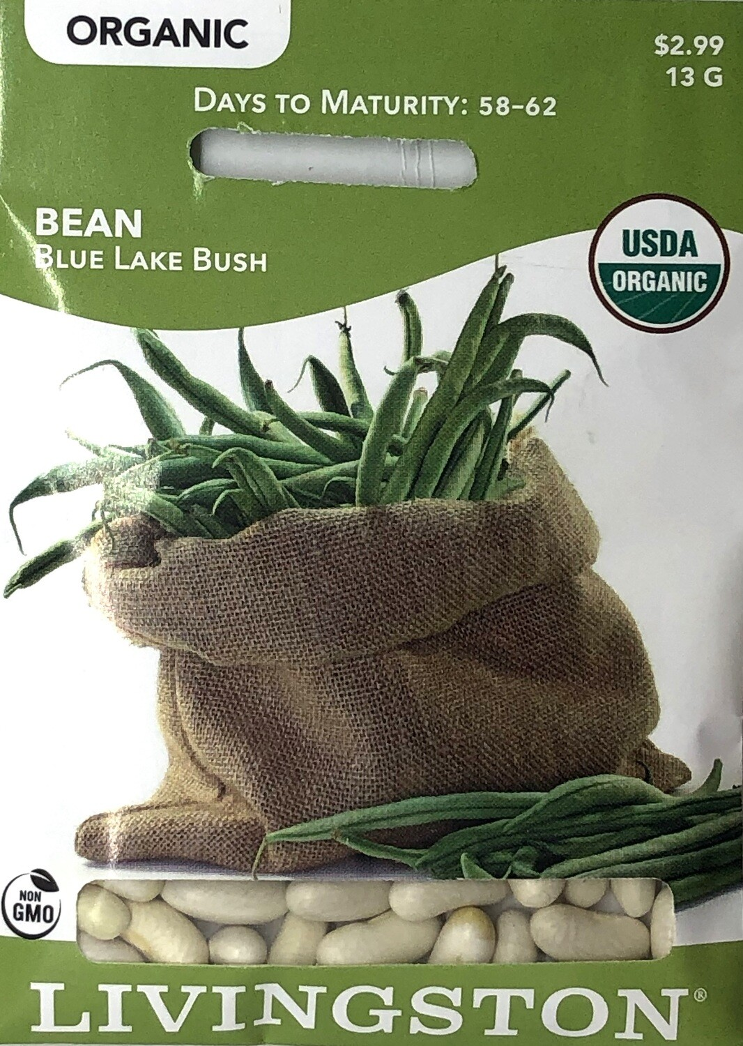 BEAN - ORGANIC - BLUE LAKE BUSH