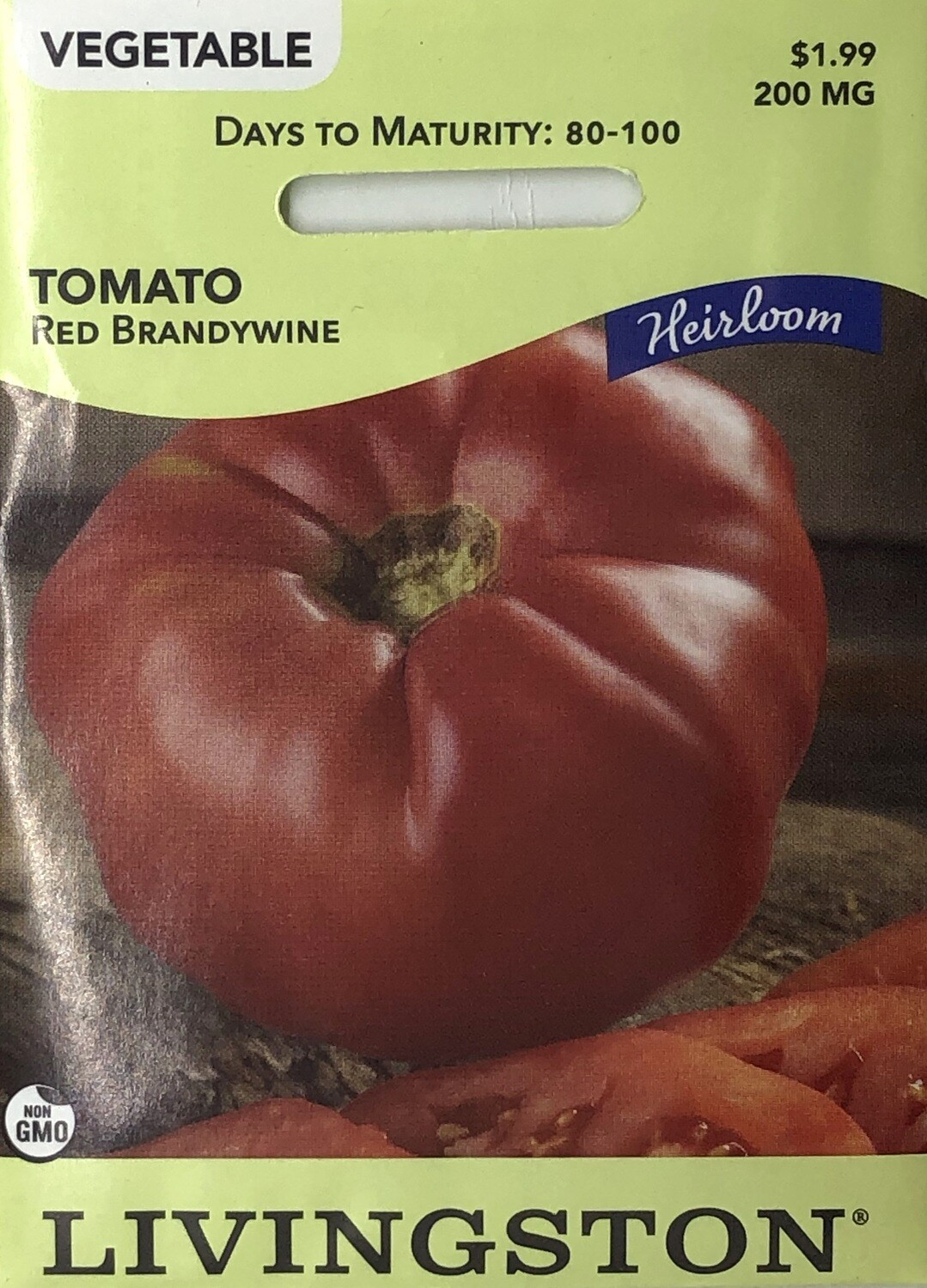 TOMATO - HEIRLOOM - RED BRANDYWINE