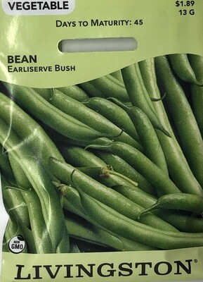 BEAN - EARLISERVE - BUSH GREEN