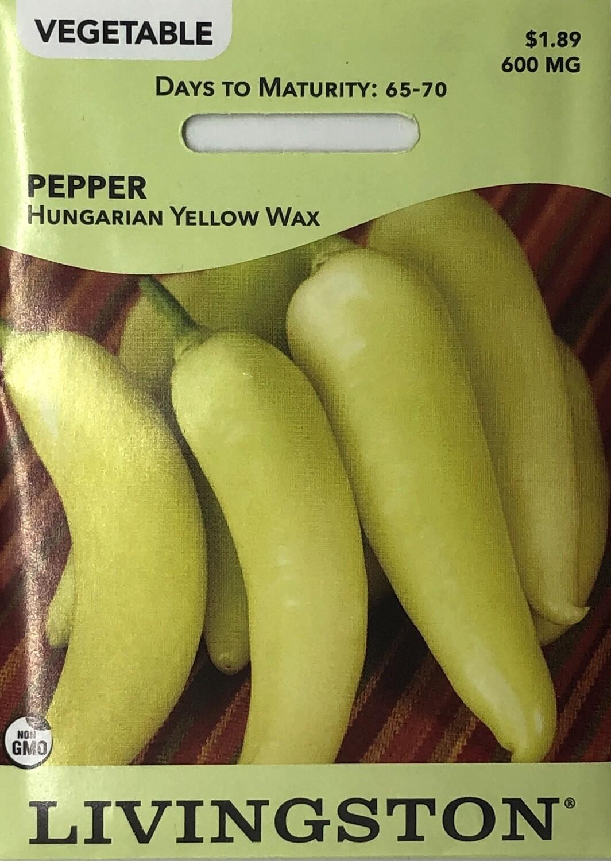 PEPPER - HUNGARIAN YELLOW WAX