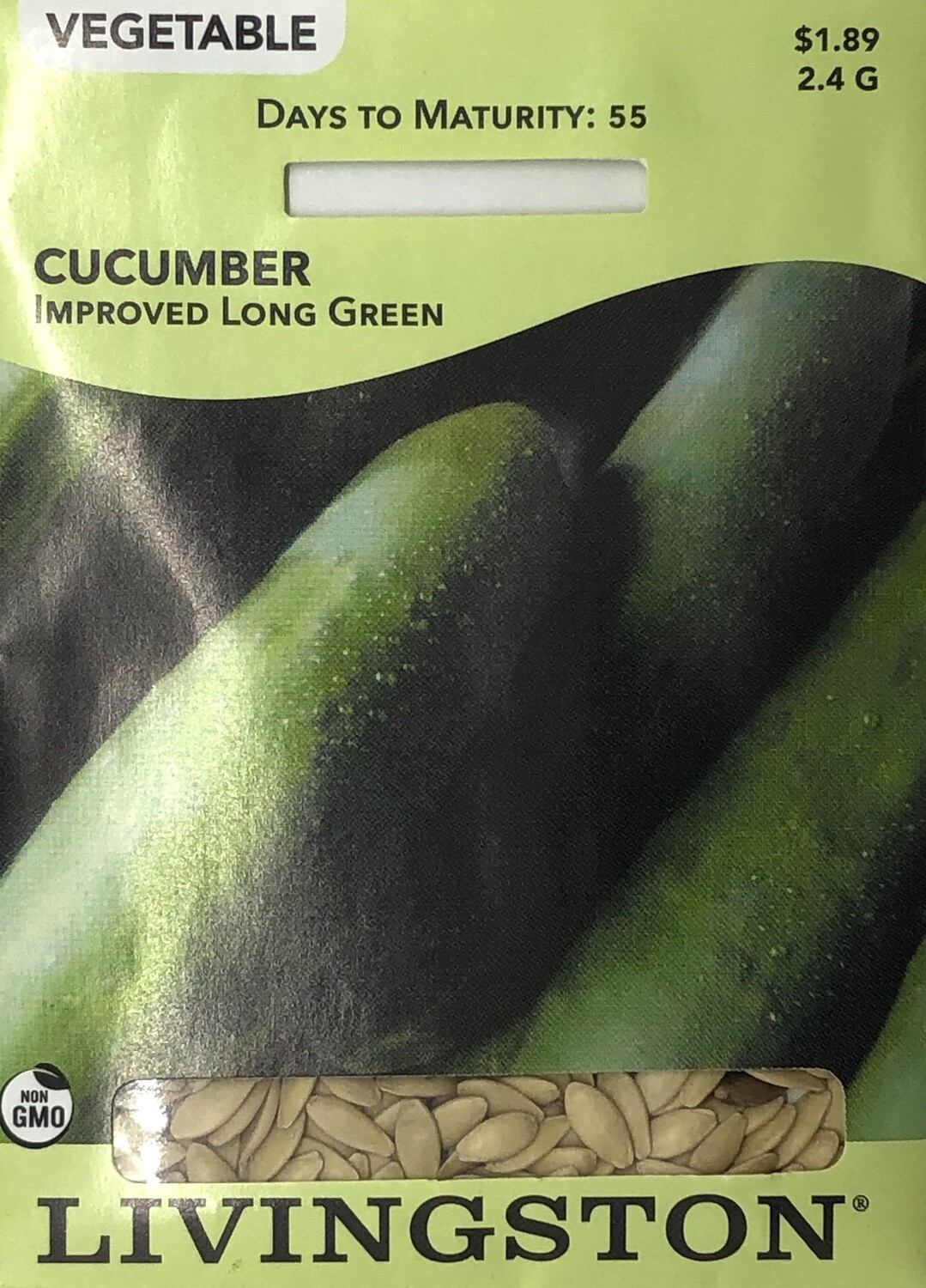 CUCUMBER - IMPROVED LONG GREEN