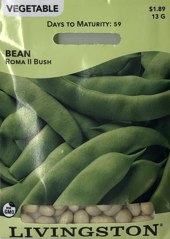 BEAN - ROMA II - BUSH GREEN