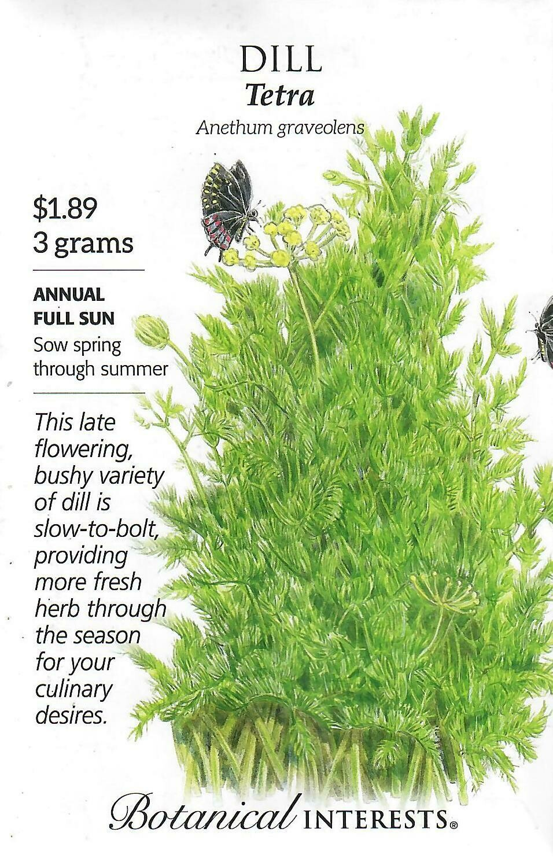 Dill Tetra Botanical Interests