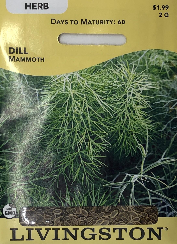 DILL - MAMMOTH