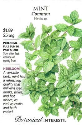 Mint Botanical Interests