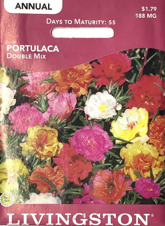 PORTULACA - DOUBLE MIX