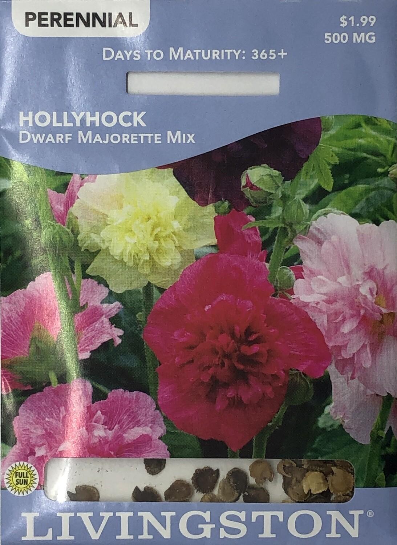 HOLLYHOCK - DWARF