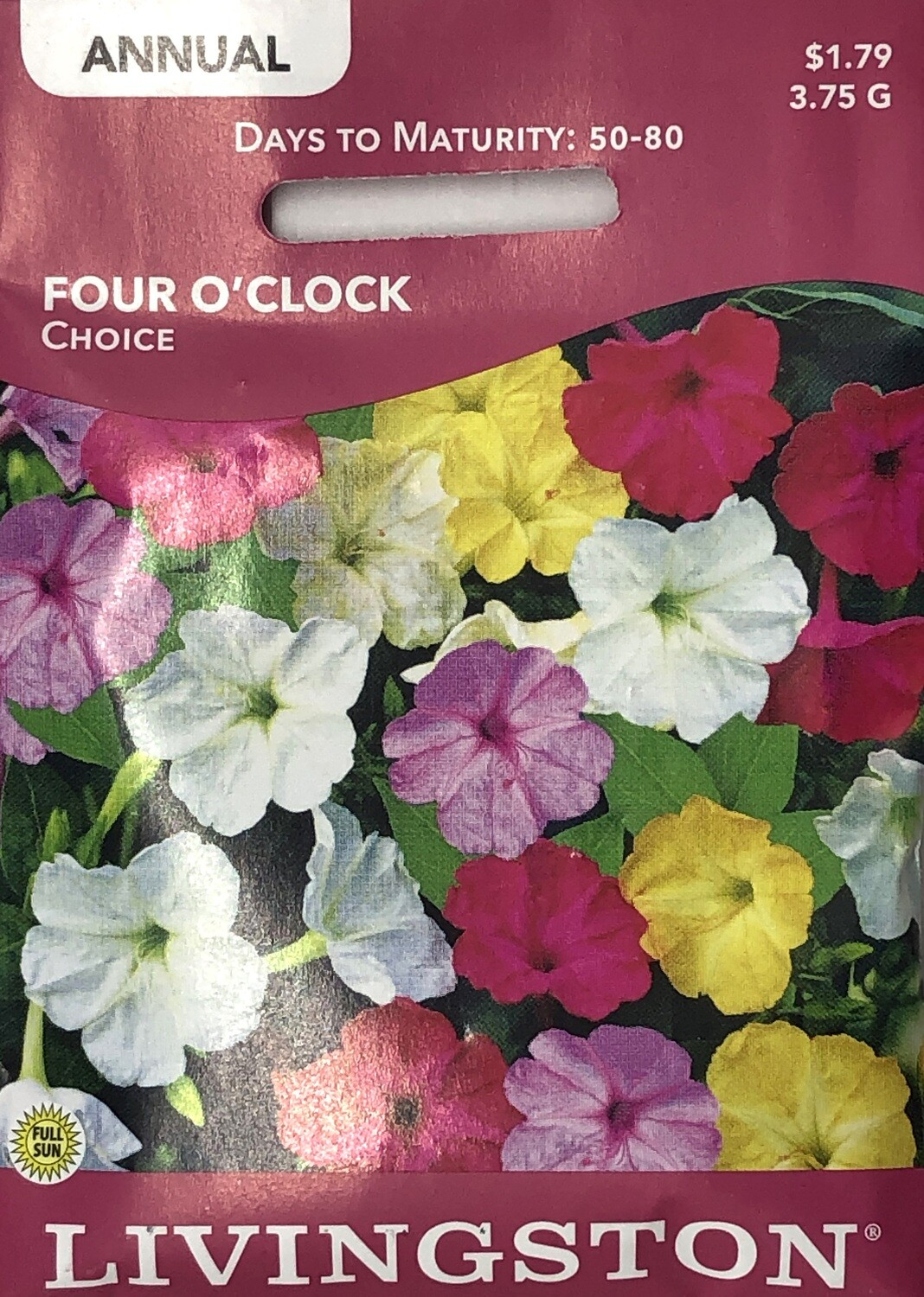 FOUR O'CLOCK - CHOICE