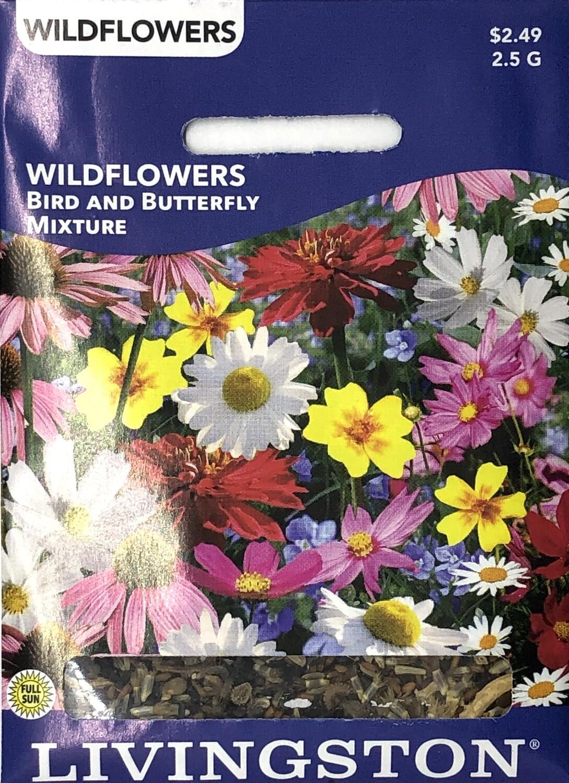 WILDFLOWER - BIRD & BUTTERFLY MIXTURE