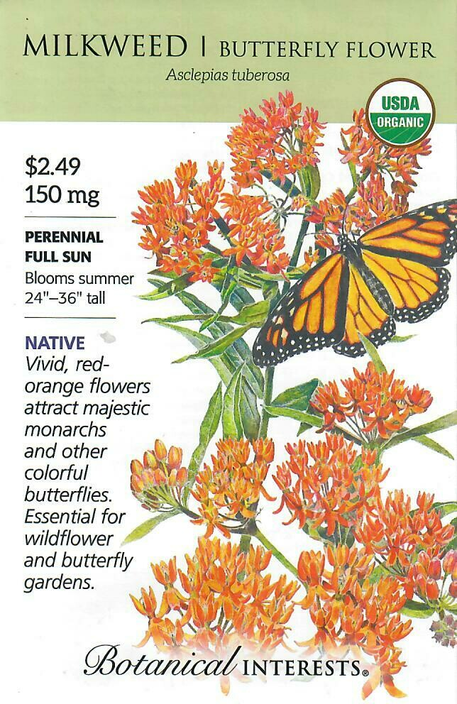 Milkweed Butterfly Flower Org Botanical Interests