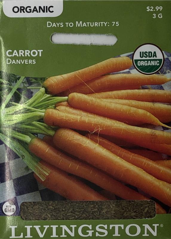 CARROT - ORGANIC - DANVERS