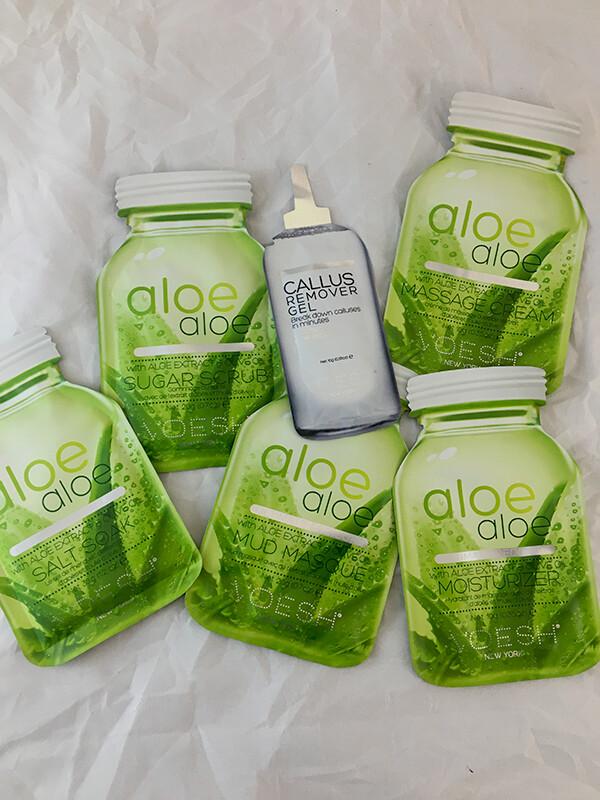 Aloe Pedi In A Box Ultimate 6 Step