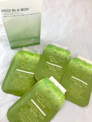 Green Tea Pedi In A Box