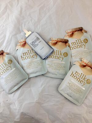 Milk And Honey Pedi In A Box Ultimate 6 Step