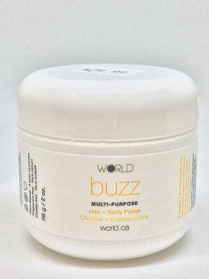 World Buzz Hair & Body Polish 2oz