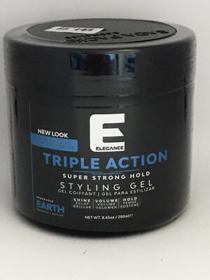 Elegance Triple Action Strong Hold Gel 8.45 oz