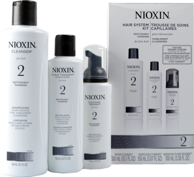 Nioxin 2 Start Up Kit - Shampoo - Conditioner - Treatment