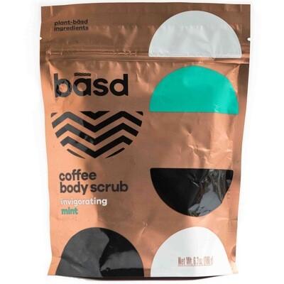 BASD BODY CARE INVIGORATING MINT COFFEE SCRUB 450ml