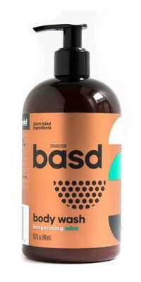 basd - Body Wash Invigorating Mint 450ml