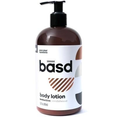 BASD BODY CARE  SEDUCTIVE SANDALWOOD BODY CREAM 450ml