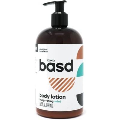 BASD BODY CARE  INVIGORATING MINT BODY CREAM 450ml