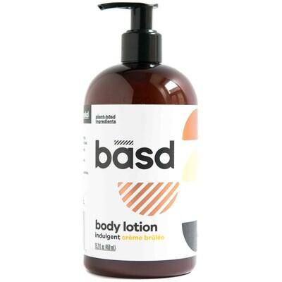 BASD BODY CARE  INDULGENT CRÈME BRÛLÉE BODY CREAM 450ml