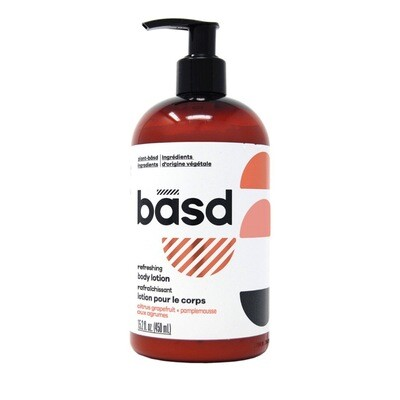 BASD BODY CARE  REFRESHING CITRUS GRAPEFRUIT BODY Cream 450ml