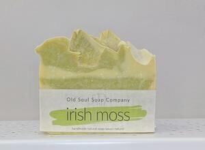 Old Soul Soap Co - Irish Moss Artisan Handmade Soap 100g