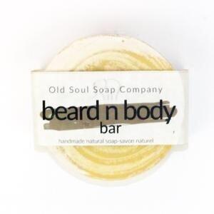 Old Soul Soap Co - Beard And Body Soap Bar