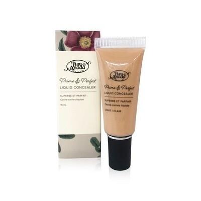 Pure Anada - Organic Prime & Perfect Liquid Concealer - Light Or Medium