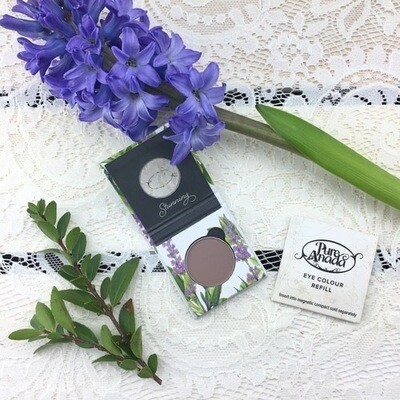 Pure Anada - Clouded (Matte) Pressed Eye Shadow With Compact