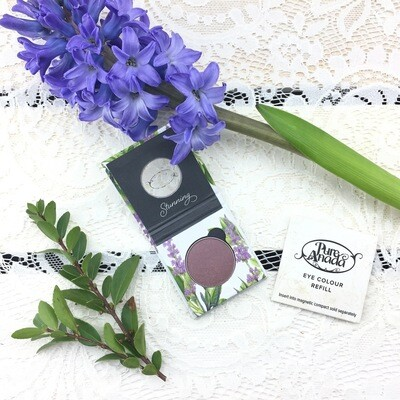 Pure Anada - Grape Pressed Eye Shadow With Compact