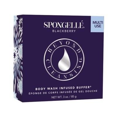 Spongelle -  Blackberry Body Wash Infused Buffer 14+ Washes