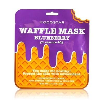 Kocostar - Waffle  Mask - Blueberry 40g