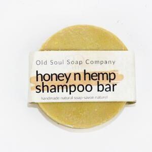 Old Soul Soap Co - Honey n Hemp Shampoo Bar