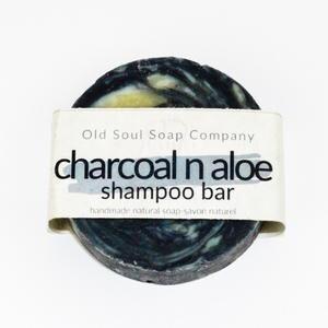 Old Soul Soap Co - Charcoal n Aloe Shampoo Bar