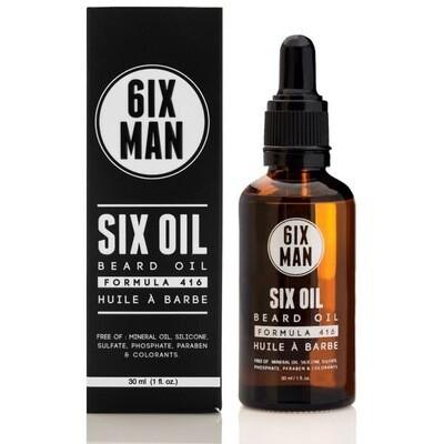 6ixMan - BEARD SIX OIL 30ml