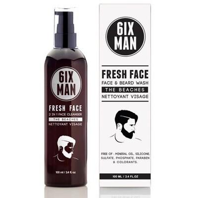 6ixMan - FRESH FACE CLEANSER 100 ml
