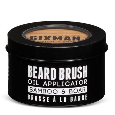 6ixMan - BAMBOO & BOAR BEARD BRUSH