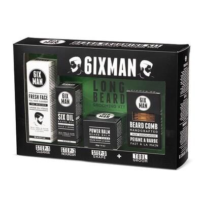 6ixMan - Total Beard Care Essentials Kits