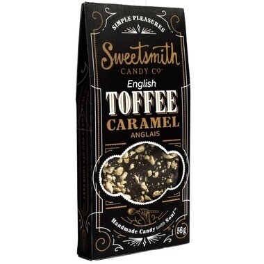 Sweetsmith Candy Co. English Toffee Caramel 56g